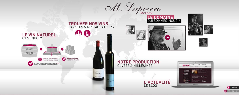 Domaine Lapierre - Marcel & Mathieu